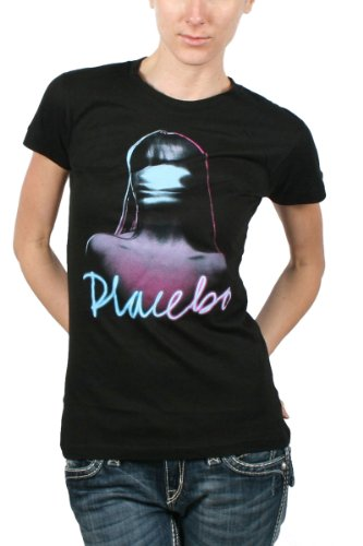Placebo-Girl-Logo-Womens-T-Shirt-in-Black-0