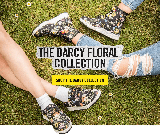 The Dr. Martens Darcy Floral Collection