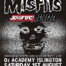 Misfits-O2_Academy-Islington-1st-August-2015-poster