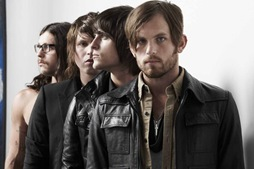 kings of leon feature shoot for the nme magazine